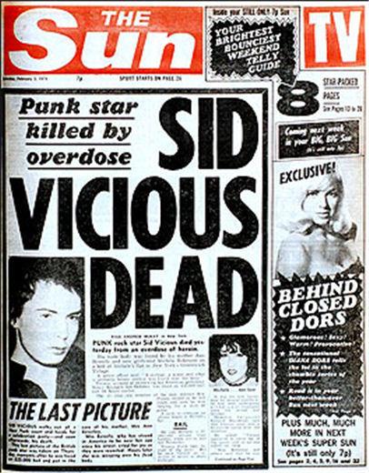Punk Profiles Sid Vicious 2